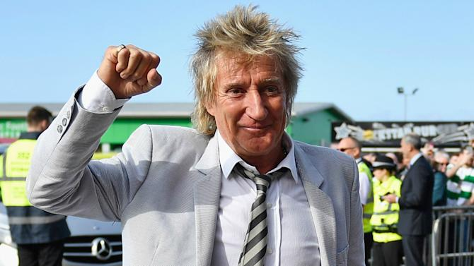 VIDEO: Rod Stewart's hilarious performance at the Scottish Cup draw