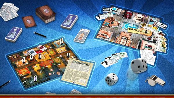 New Clues: Board Game Whodunits
