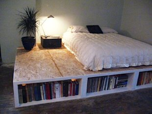 Add Storage to a Small Bedroom