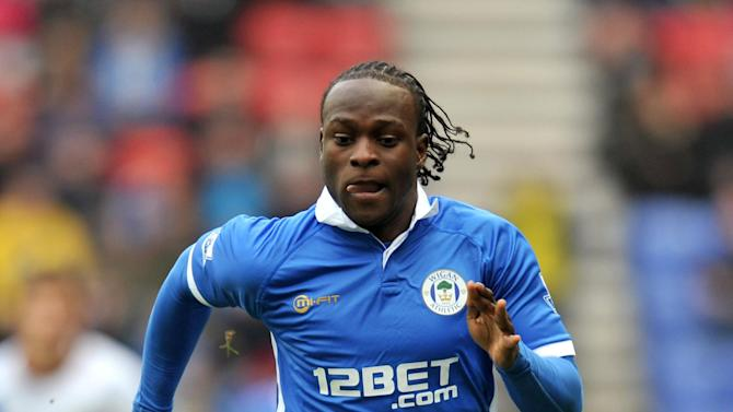Wigan Athletic's Victor Moses is reportedly a target of Chelsea