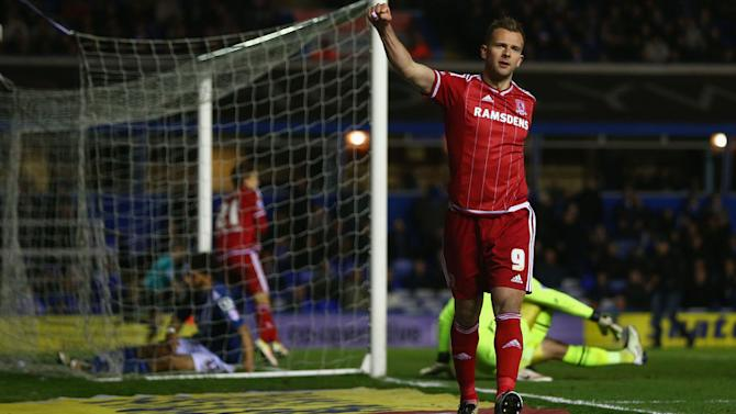 Middlesbrough Striker Jordan Rhodes Believes Their Is Good Reason for Optimism at the Riverside
