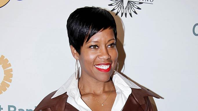 Regina King Lakers Casino Night