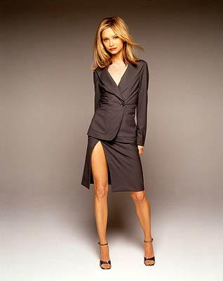 Calista Flockhart is Ally McBeal Ally McBeal