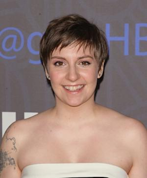 Lena Dunham attends Cinema Society presents the world premiere of 'Girls' season 2 at NYU Skirball Center in New York City on January 9, 2013 -- Getty Premium