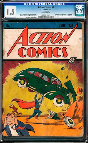1938 Superman Comic Worth More Than $100K Found Inside Walls of Old House