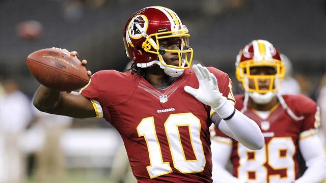 American Football - Redskins shut down quarterback Griffin for rest of season