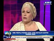 Family and friends remember the life and legacy of People Power icon, June Keithley-Castro who passed away, Sunday. For more news, click here.