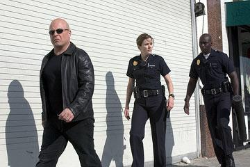 Michael Jace and Catherine Dent FX's The Shield