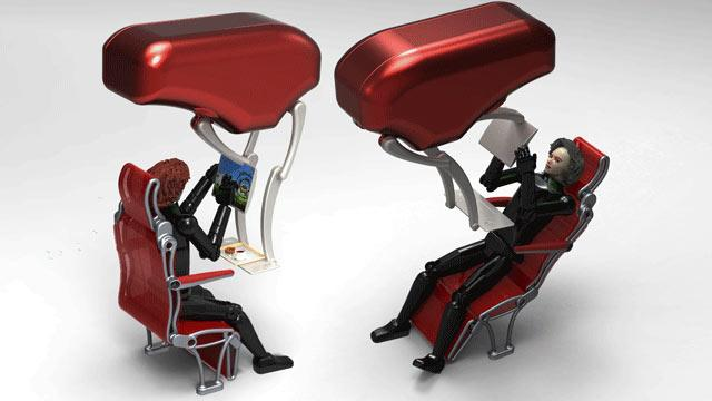 The Future of Airline Seating? Let's Hope So