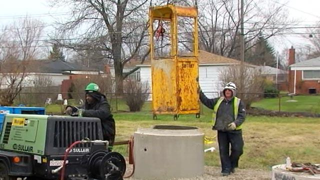 Remains Found in Mich. Drain Pipe