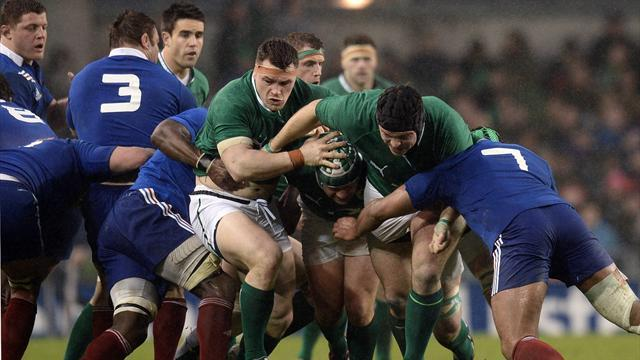 Six Nations - France fight back to draw in wet Dublin