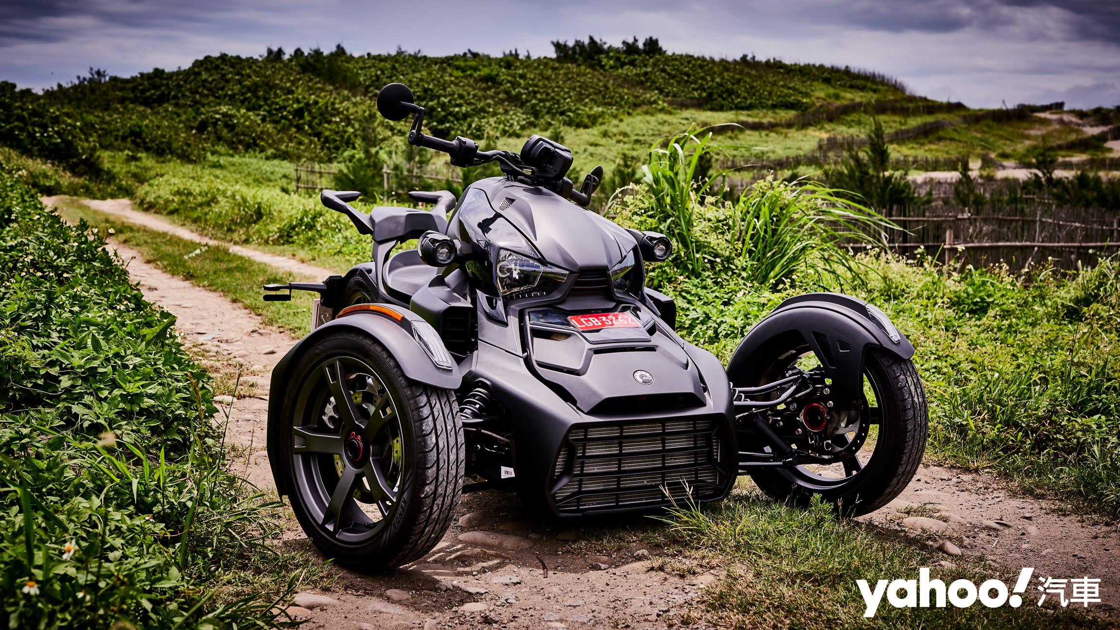 【新車圖輯】能騎上路的Gokart就是刺激爆表!Can-am Ryker 900桃園試駕甩起來!