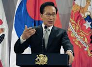 South Korea president Lee Myung-bak speaks in Chile in June. Lee apologised on Friday after a seven-year-old girl was kidnapped overnight from her home and raped, sparking a public outcry. It was the latest in a series of sexual assaults on women and children that have prompted calls for tougher punishment for offenders