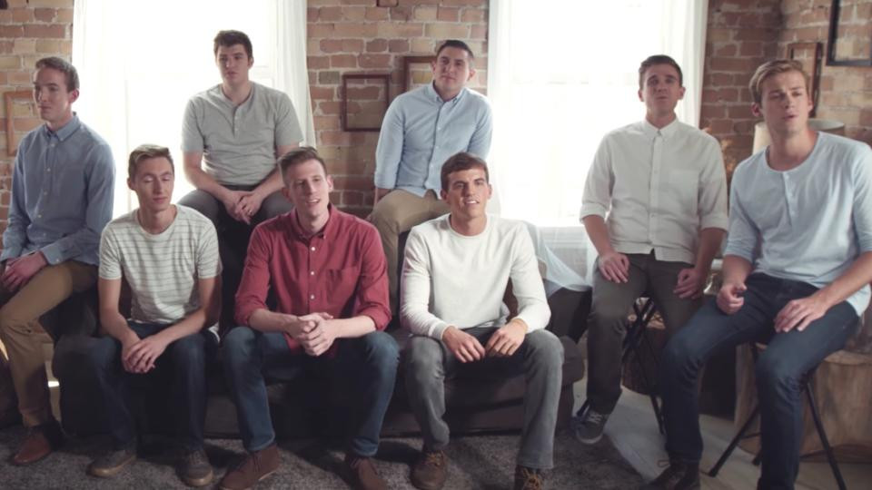 Nine-Man A Cappella Group Sings Heartfelt 'Toy Story 2' Rendition