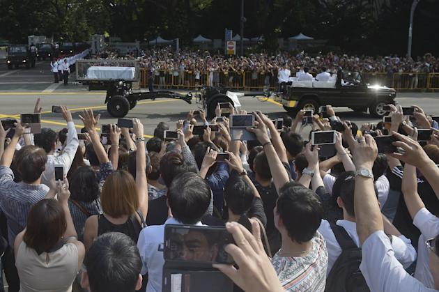 State Funeral For Lee Kuan Yew Father Lee Kuan Yew Leaves