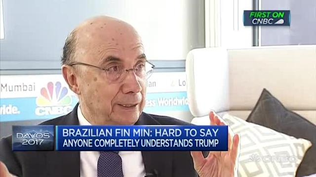 Protectionism is good for no-one: Brazilian Fin Min