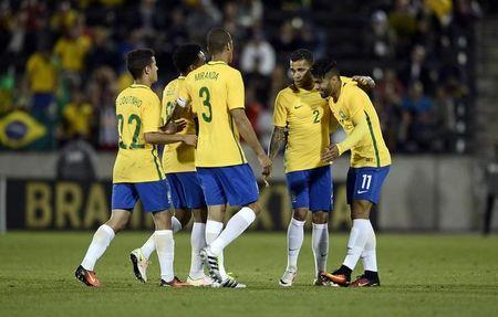 Soccer: International Friendly Men's Soccer-Brazil at Panama