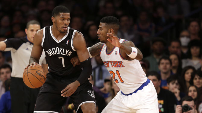 Nets return from London with rout of Knicks
