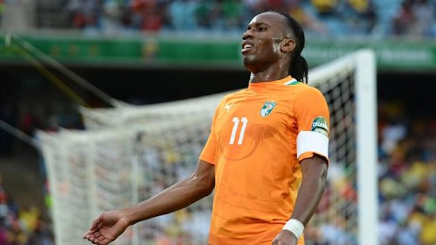 CAN 2013 Ivory Coast Drogba