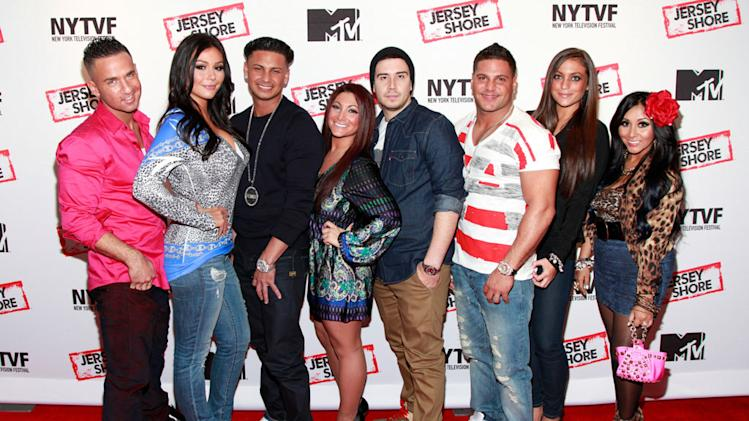"""The Jersey Shore"" cast"