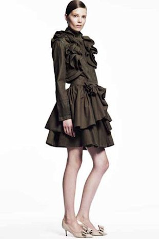 ruffled jacket Valentino Gap