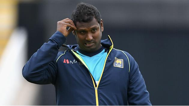 Sri Lanka captain Mathews out due to 'multiple leg injuries'
