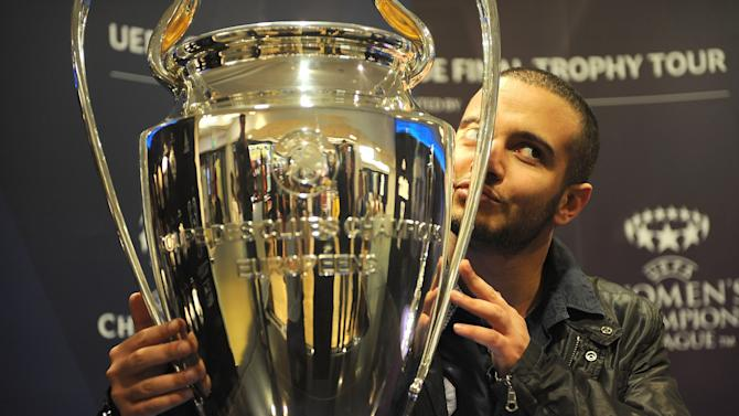 Champions League Trophy Tour - Harrods