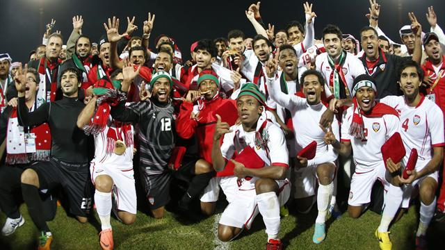 World Football - UAE leave it late to beat Iraq in Gulf Cup final