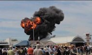Spain Plane Crash: Fireball At Airshow