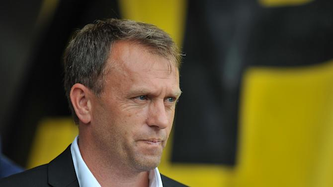 Barnet manager Mark Robson is looking to strengthen his strikeforce