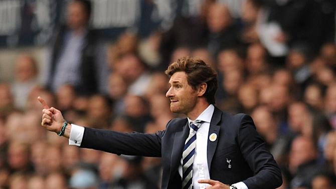 Andre Villas-Boas is not worried despite Tottenham only having three points from as many Europa League games