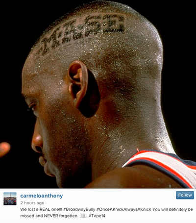 The whole NBA family, young and old, remembers Anthony Mason