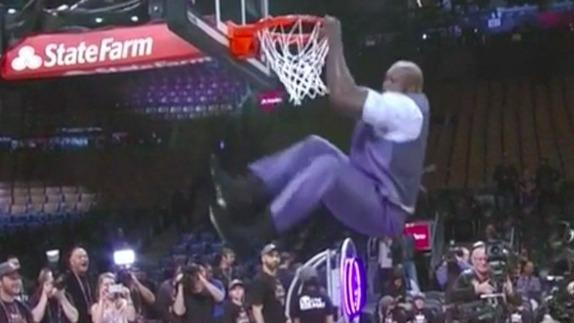 Charles Barkley bet Shaq couldn't dunk anymore. He was wrong.