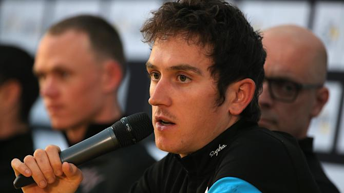 Cycling - Thomas pens new deal with Team Sky