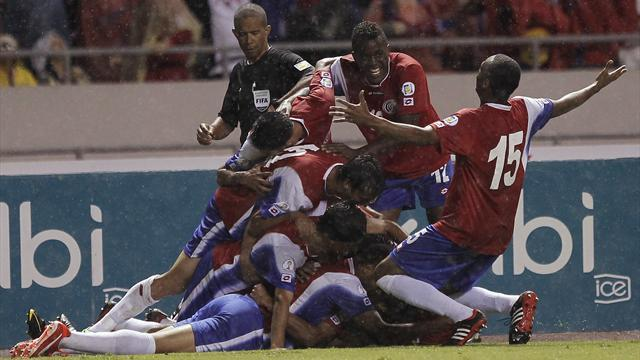 World Cup - Costa Rica solidify qualifying spot