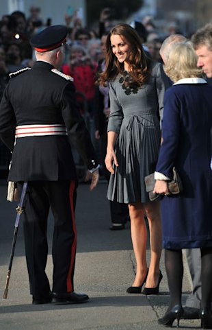 Kate Middleton Wears Orla Kiely at the Dulwich Gallery