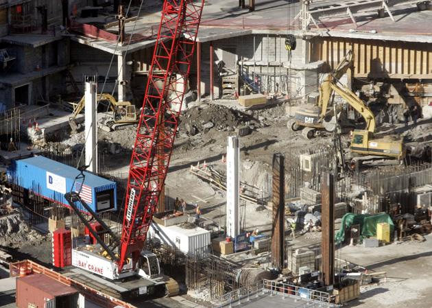 Construction Of Freedom Tower Gets Underway