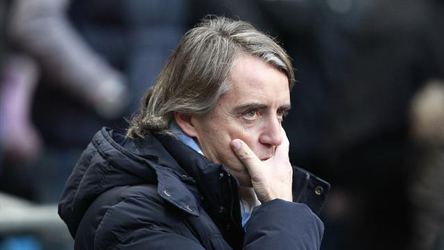 Football - Mancini: Players must be responsible for team's failure