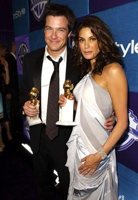 Winners Jason Bateman, Actor, Musical or Comedy, and Teri Hatcher, Actress, Musical or Comedy InStyle/Warner Bros. Golden Globes Party The Palm Court at the Beverly Hilton - Beverly Hills, CA - 1/16/05