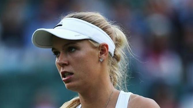 Wimbledon - Wozniacki keeps her cool to beat 16-year-old Croat