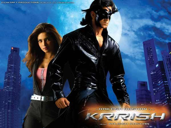 Image courtesy : iDiva.comKoi Mil Gaya / Krrish: The movie revolves around the life of a mentally challenged boy who is gifted with super powers by his alien friend. The first part was named Koi Mil G