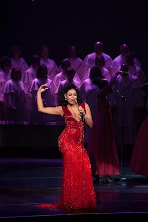 "This undated film image released by TriStar Pictures shows Jordin Sparks in a scene from ""Sparkle."" (AP Photo/TriStar Pictures - Sony, Alicia Gbur)"