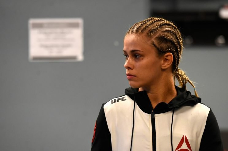 Paige VanZant is open to fighting Ronda Rousey under one condition. (Getty)