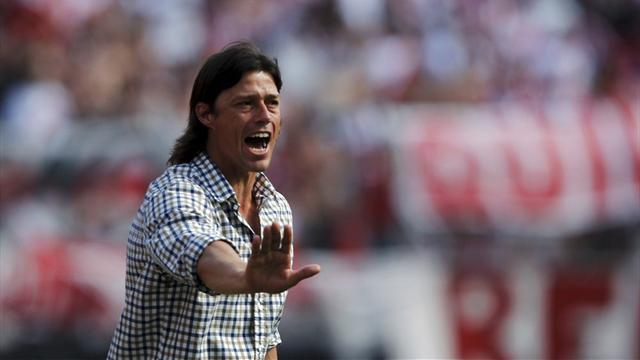 World Football - Coach Almeyda quits River Plate