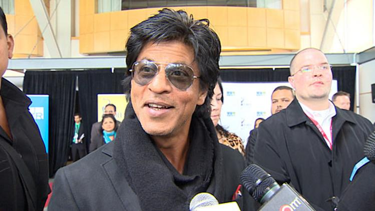 RAW: Bollywood star Shahrukh Khan