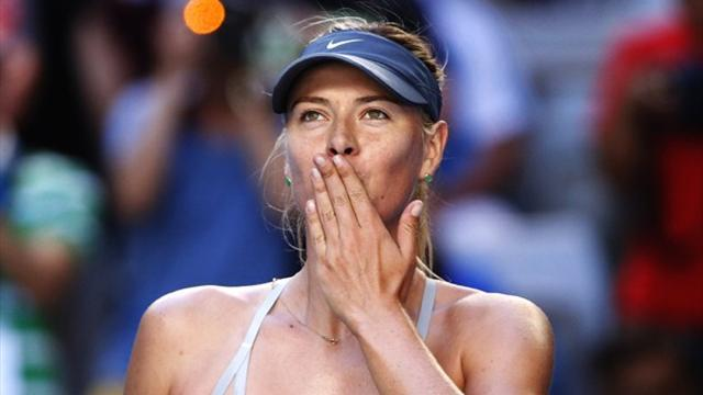 Australian Open - The record that Sharapova did not want to break