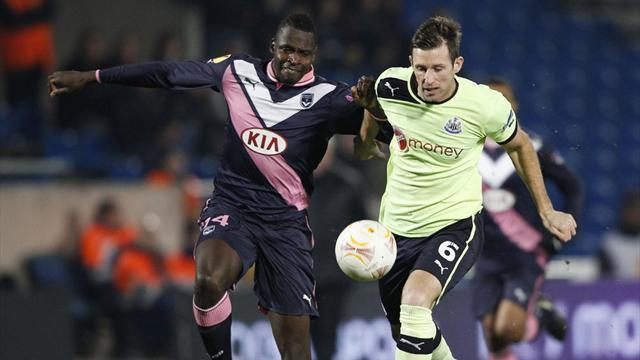 Europa League - Bordeaux beat Newcastle to top group