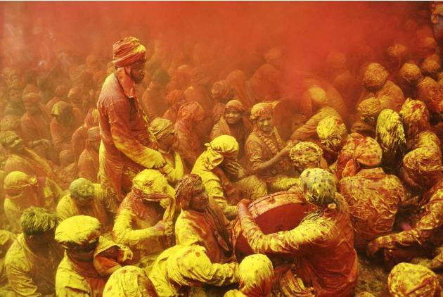 Travel India Festivals Holi Barsana