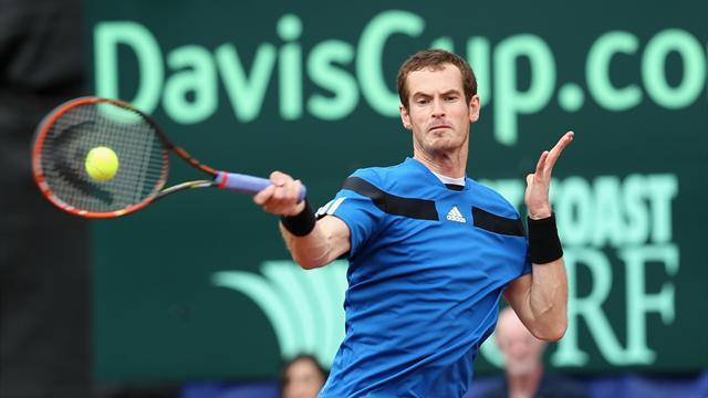Davis Cup - Murray to lead Britain in Italian job