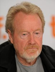 "FILE - In this Sept. 12, 2009 file photo, executive producer Ridley Scott participates in a press conference for the film ""Cracks"" during the Toronto International Film Festival in Toronto. Scott's production company, Scott Free Productions, will play an integral role in judging the submissions to YouTube's new film festival, known as Your Film Festival. (AP Photo/Evan Agostini, File)"